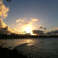 Sunset at Noosa