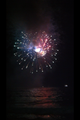 Fireworks at Mooloolaba